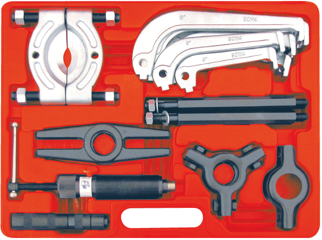 Bearing Puller Kit Novatec : Rytool hydraulic bearing puller kit